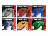 De N64 Controller is een ergonomische trendsetter met 14 knoppen en een analoge joystick!