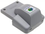 Deze <a href = http://www.mario64.nl/Nintendo-64-spel.php?t=Nintendo_64_Rumble_Pak target = _blank>Rumble Pak</a> laat de controller trillen op bepaalde momenten.