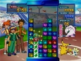 Pokémon Puzzle League bevat zes spelstanden in 2D of 3D en 15 Pokémon Trainers om te verslaan.