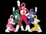 Speel met de verschillende Power Rangers.