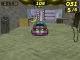 Je kunt ook op grote hoogte door gebouwen racen!