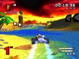 Race door water en lava heen, lang voordat ze dat konden in Mario Kart!