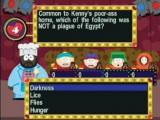 De vragen in de minigames hebben de bekende South Park-humor.