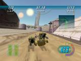 Race op verschillende planeten, zoals Tatooine!