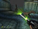 Telt een dionosaurus ook als een duister monster? Dan is Lara Croft ook een monsterjager...