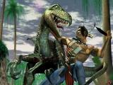Zoals de titel al zegt speel je als Turok, de dinosaurusjager.