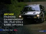 De auto in het menu ziet er heel realistisch uit, maar de auto's in de game een stuk minder...