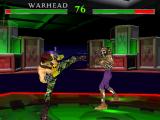 Deze game is een klassieke 2D-vechtgame, maar je kan wel in 3D ontwijken door opzij te stappen.