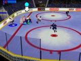 Die speler links weet blijkbaar niet hoe hockey werkt.