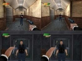 Net als de klassieker Goldeneye heeft deze game split-screen multiplayer voor maximaal 4 spelers.