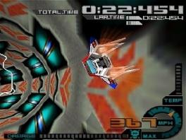 Anti-zwaartekracht? Deze game  lijkt écht op F-Zero!