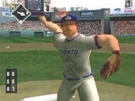 Speel als verschillende beroemde honkbalspelers, sommigen blijkbaar met hun arm uit de kom...