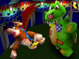 Speel de minigames in Banjo-Tooie met maximaal 4 spelers.