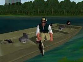 """Speel als dit soort vissers, eh, """"baarsjagers""""."""