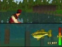 Niets is zo spannend als wachten tot een vis bijt en dan op een knop drukken...