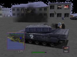 De meeste omgevingen in deze game zijn verwoestbaar.
