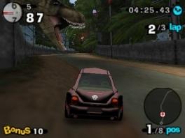 Zoals je aan deze T-Rex kan zien, is deze game geheel realistisch.