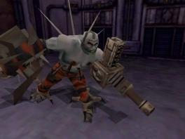 De personages in deze game zijn allemaal Frankensteinachtige experimenten.