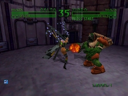 Deze game is een 2D-fighter à la Street Fighter.