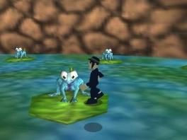 Ken je de gigantische blauwe kikkers uit de film nog? Ik ook niet.