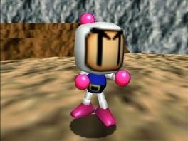 Speel als de klassieke <a href = https://www.mario64.nl/Nintendo-64-spel.php?t=Bomberman_64 target = _blank>Bomberman</a>!