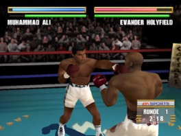 Speel als verschillende boksers, zoals  de legendarische Muhammad Ali!