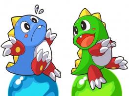 In deze game speel je als het groene draakje Bub en enkele van zijn vriendjes.