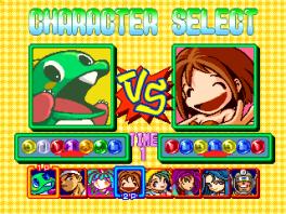 Speel met maximaal 2 spelers, met de keuze uit 8 karakters.