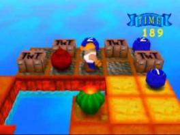Deze game doet een beetje denken aan <a href = https://www.mario64.nl/Nintendo-64-spel.php?t=Bomberman_64 target = _blank>Bomberman</a>, maar dan zonder het competitieve element.