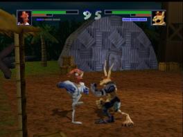 De gameplay is typerend voor een 2D-fighter, en werkt hetzelfde als in games als Street Fighter.