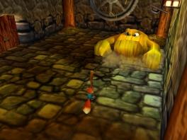 Deze game is een 3D platformer, het genre waar ontwikkelaar Rare zo beroemd om is.