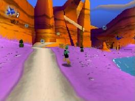 Deze game is een 3D-platormer.
