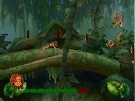 Boomsurf door de jungle, slinger aan lianen en maak een vliegtochtje op een ooievaar.