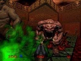 Er zijn 4 moeilijkheidsgraden en 16 totaal vernieuwde wezens in <a href = https://www.mario64.nl/Nintendo-64-spel.php?t=Doom_64>Doom 64</a>.