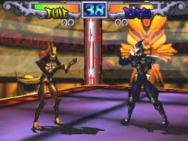 Deze game speelt als een klassieke 2D-fighter.