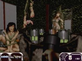 Hoewel deze versie van de game lichtelijk gecensureerd is, is er nog genoeg geweld...