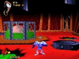 Alleen als <a href = https://www.mario64.nl/Nintendo-64-spel.php?t=Earthworm_Jim_3D>Earthworm Jim</a> al zijn knikkers vindt, wordt hij weer wakker in de echte wereld.