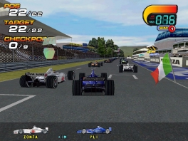 Speel als verschillende Formule 1-wagens van alle grote ploegen!