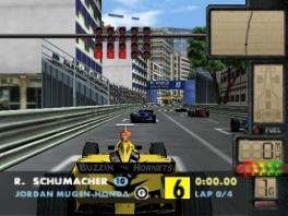 Speel als verschillende Formule 1-coureurs en hun wagens!
