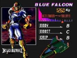 Speel als verschillende F-Zero Grand Prix deelnemers, zoals natuurlijk ook Captain Falcon!