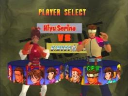 Keuze uit vele verschillende vechters!