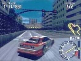 Speel op verschillende locaties, zoals hier midden in de stad.
