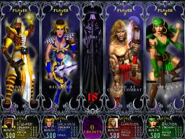 """Speel als verschillende klassen, zoals de strijder, de boogschutter, de tovenaar en de """"valkyrie""""."""