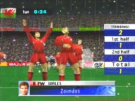 Deze game ziet er net iets minder mooi uit dan Fifa...