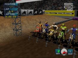 Speel als één van deze racers in kleurrijke pakjes.