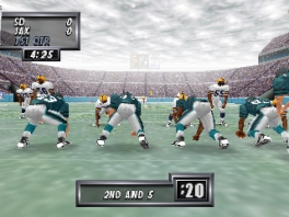 Alle teams uit de National Football League zitten in dit spel.