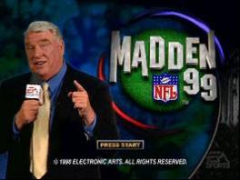 John Madden, football-commentator en de man aan wie dit spel zijn naam ontleent.