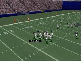 """Speel """"American Football"""", een spel waarbij je nauwelijks je voeten gebruikt."""