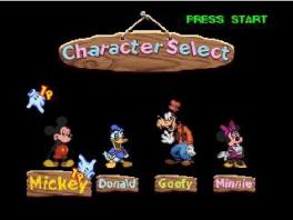 Speel als één van de vier klassieke Disneyhelden!