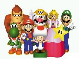Bouw een geweldig feestje met de bekendste 6 gezichten uit het Mushroom Kingdom!